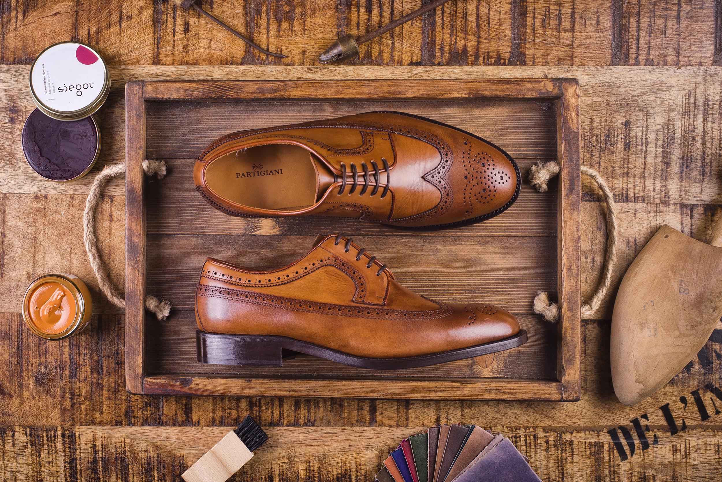 Zdjęcie reklamowe butów